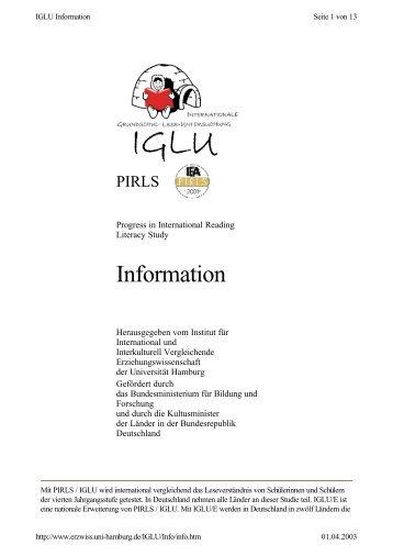 IGLU Basisinformation.pdf - Gewerkschaft Erziehung und ...