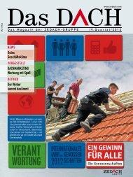 Das DACH IV. Quartal 2012 - ZEDACH eG