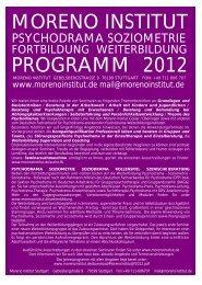 Leppo / Jahresübersicht 2012 (16 kb) - Moreno Institut Stuttgart