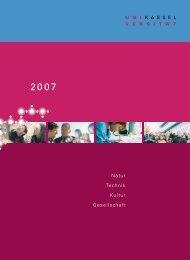 Bericht 2007 // Universität Kassel