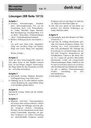 Lösungen (SB Seite 12/13)