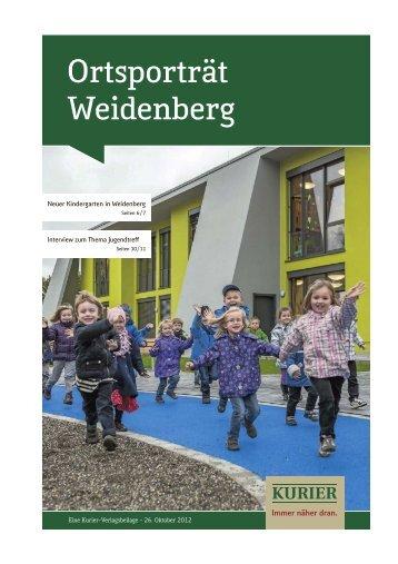 Ortsporträt Weidenberg - Markt Weidenberg