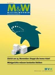 Zürich am 25. November: Stoppt die Immo-Haie ... - Mieterverband