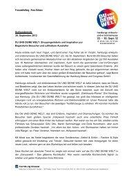 Schlussbericht 30. September 2012 DU UND DEINE WELT ...