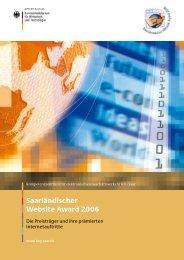 Saarländischer Website Award 2006 - ZPT