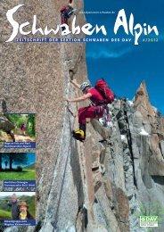 Das Programm 2012 - DAV Sektion Schwaben
