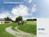 Sustainability Report 2011 - EnBW