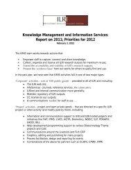 Report on 2011 - International Livestock Research Institute (ILRI)