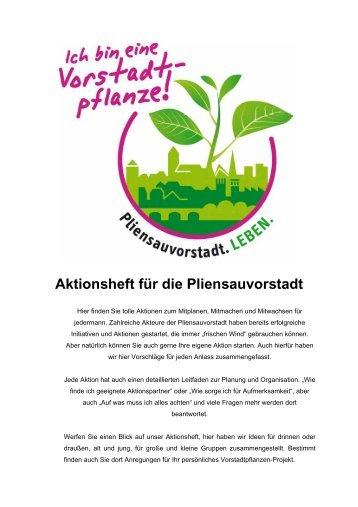 Aktionsheft für die Pliensauvorstadt - Esslingen