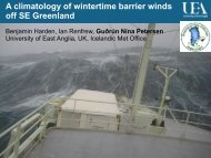 Warm and cold barrier winds
