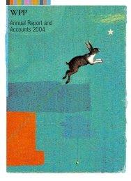 WPP Annual Report 2004 - Entire Report