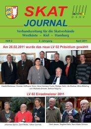 JOURNAL Verbandszeitung für die Skatverbände Westküste - DSkV