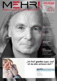 Download als PDF - MEHR! Stadtteilmagazin Düsseldorf