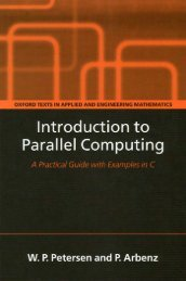 Introduction to Parallel Computing - BenStopford.com