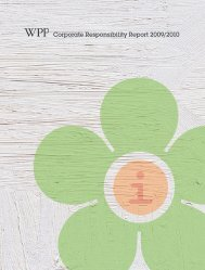 Corporate Responsibility Report 2009/2010 - Center Partners