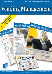 Mediadaten Vending Management 2011 - Download - Catering ...