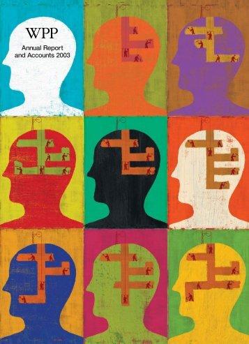 WPP Annual Report 2003 - Entire Report