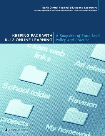 Keeping Pace with K-12 Online Learning