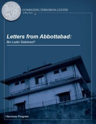 Letters from Abbottabad - Combating Terrorism Center at West Point