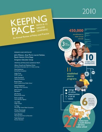 Keeping Pace with K-12 Online Learning 2010
