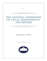 the national commission on fiscal responsibility ... - Washington Post