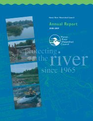 Annual Report - Huron River Watershed Council
