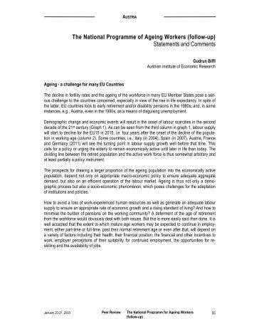 Austria - Mutual Learning Programme