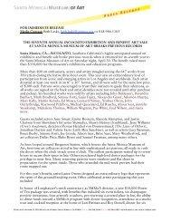 FOR IMMEDIATE RELEASE Media Contact: Beth Laski, beth.laski ...