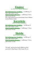 Einakter - Theaterverlag Arno Boas - Seite 5