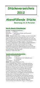 Einakter - Theaterverlag Arno Boas - Seite 6