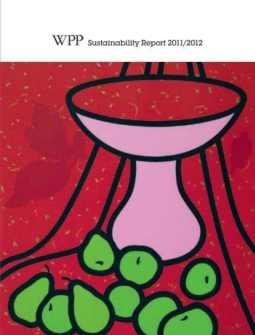 Sustainability Report 2011/2012 - WPP