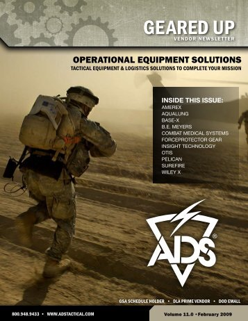 operational equipment solutions - ADS, Inc. ADS, Inc.