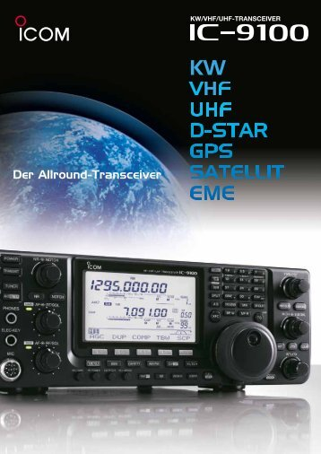 IC-9100 Prospekt (pdf)