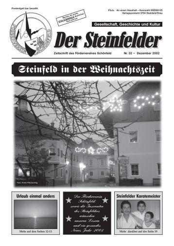 Postentgelt bar bezahlt. - Förderverein Schönfeld