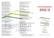 Flyer Familienzentrum 2012 - in Hamminkeln