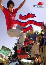 vom 09.07. bis 30.09.2012 in der Stadtbibliothek ... - Stauferpark