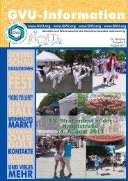 14. Jahrgang Ausgabe 2 August 2011 - Gewerbeverband ...