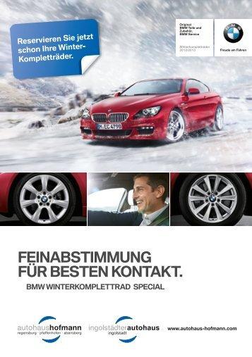 feinAbStiMMUnG fÜr beSten kOntAkt. - Autohaus Hofmann