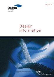 Delrin® Design Information - DuPont