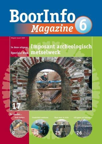 Magazine 6 - BoorInfo Magazine