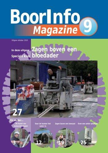 BoorInfo - In deze uitgave - BoorInfo Magazine