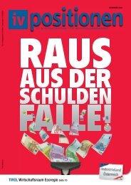 TIROL Wirtschaftsraum Ecoregio Seite 10 - IV Tirol