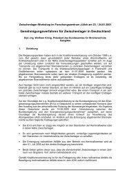 Vortrag Jülich - Bundesamt für Strahlenschutz