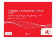 Challenges in practical design of planar Challenges in practical ...