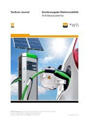 TecScan Journal Sonderausgabe Elektromobilität - Bundesverband ...