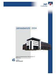 Jahresbericht 2004 - Institut für Niedertemperatur-Plasmaphysik ...