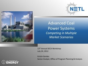 Presentation - National Energy Technology Laboratory