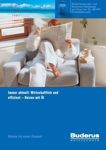 Immer aktuell: Wirtschaftlich und effizient – Heizen ... - HEEP GmbH