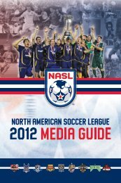 Untitled - North American Soccer League
