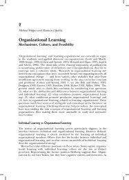 Organizational Learning - Corwin